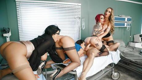 Reverse Gangbang Porn