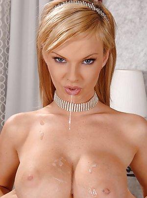 Cum on Boobs Porn