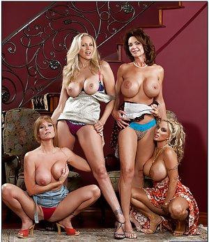 Busty Lesbians Porn