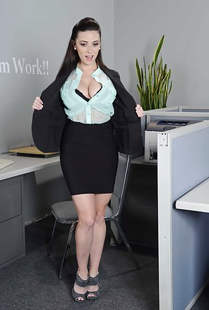 Secretary Boobs Porn