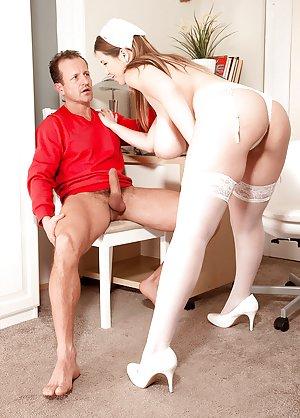 Busty Nurse Porn