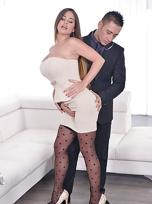 Boobs in Stockings Porn
