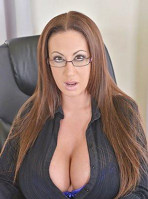 Busty Girl Glasses Porn